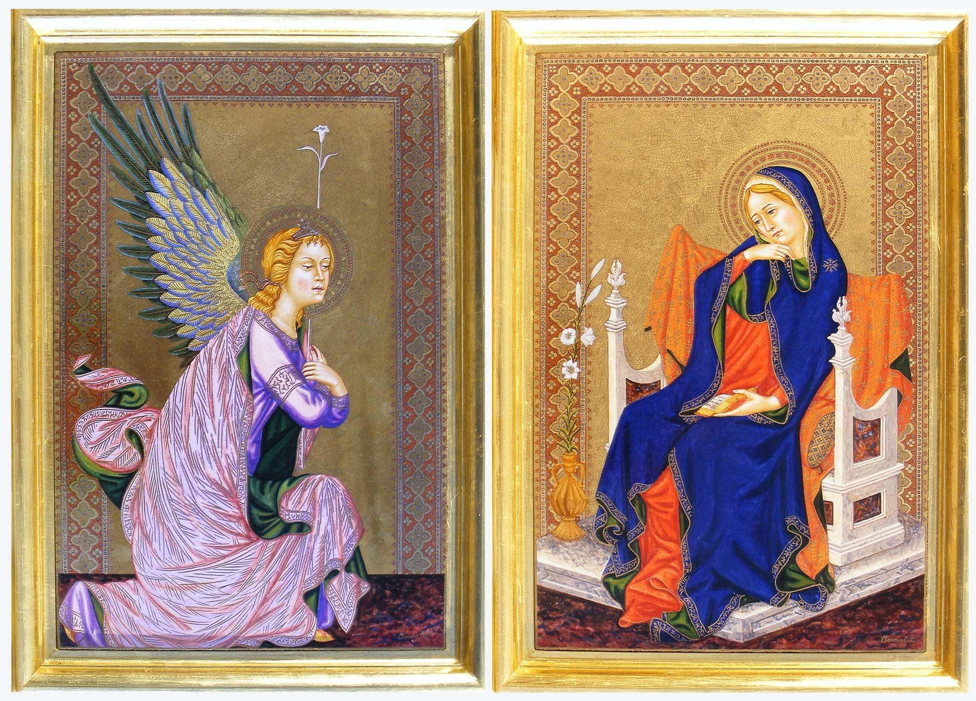 Vergine annunciata - Claudia Ciotti